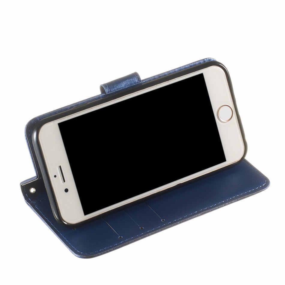Capa de telefone do vintage para oppo a3s a5 a7 k1 r15x r17 f7 f9 f11 a1k realme 3 pro fundas única cor carteira capa de couro flip p01d