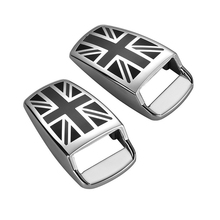 2pcs/Set New Car Windshield Wiper Water Spray Nozzle Covers Zinc Alloy practical For Mini Cooper R55 R56 R60 R61 F54 F55 F56