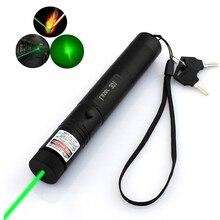 Охотничий 532нм 5 мВт зеленый красный лазерный прицел 301 указатель высокомощное устройство с регулируемым фокусом лазерные лазеры ручка горящая спичка