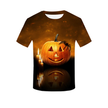 Happiness plum BEAR Jack OLantern Printed tshirt Men t shirt Hot sale t-shirt Short Sleeve Camiseta Halloween Drop Ship
