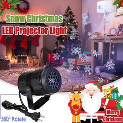Kerst Sneeuwvlok LED Projector Lichten Outdoor Landschap Decoratie Lamp Thuis Party Decor Night Lamp Laser Show Lamp