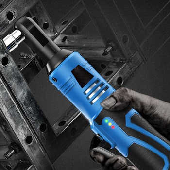"""TACKLIFE 18V Electric Wrench Kit 3/8"""" Cordless Ratchet Wrench Rechargeable Scaffolding 65NM Torque Ratchet With Sockets Tools"""