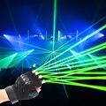 Natale Rosso Verde Laser Guanti di Scena di Danza guanti laser Palma Luce Per DJ Club/Partito/Bar di prestazione Della Fase personale puntelli