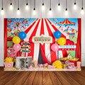 Фон для фотосъемки в парке развлечений Mehofond, цирк, слон, день рождения, Декор, фон для фотосъемки, Фотостудия