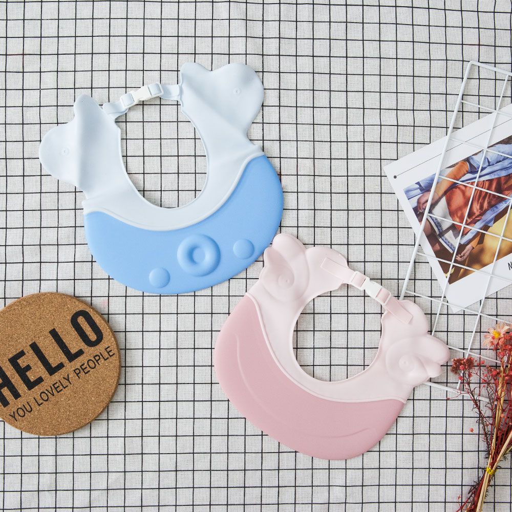 Baby Shampoo Cap Cute Wing Animal Baby Shampoo Hats Toddler Wash Hair Shield Kids Direct Visor Caps Bathing Shower Cap Baby Care 3