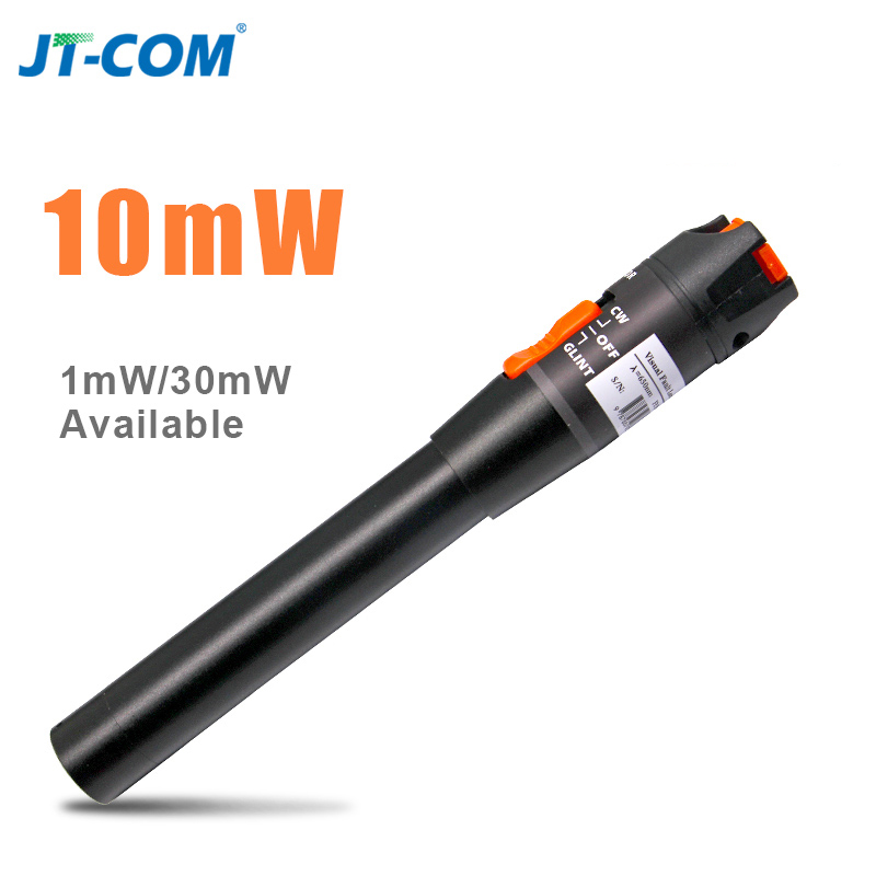 10mW 10KM Visual Fault Locator Fiber Optic Laser Cable Test Equipment FO