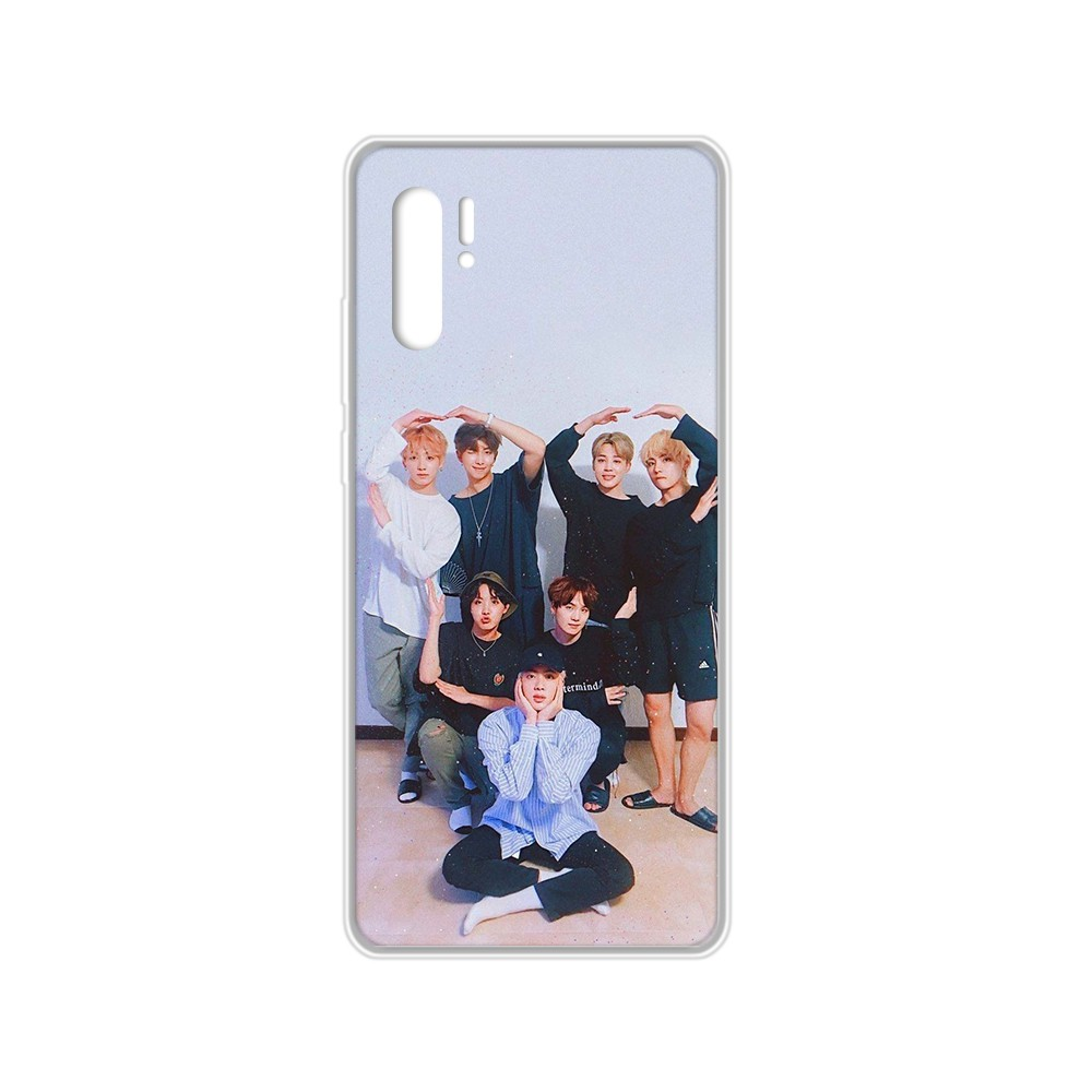 Bangtan KPOP Boys Trend Hoesjes Transparent Phone Case For HUAWEI Nove 5T P 8 9 10 P20 P30 P40 P Pro Smart 2017 2019 Z Lite