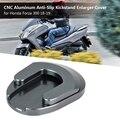 Подставка для мотоцикла  алюминиевая противоскользящая подставка для мотоцикла с ЧПУ  Увеличенная крышка для Honda Forza 300 18-19 (титан)