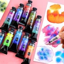 Super Vision 15ml warstwowy kolor Master-level Pigment akwarela akwarele rury do malowania dostawców do rysowania artystycznego