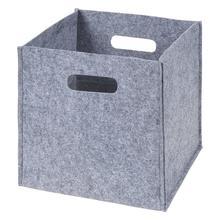 Pieghevole Cestino Di Immagazzinaggio di Grandi Dimensioni Feltro Pieghevole Pieghevole Box Cube Abbigliamento Sundries Giocattoli Per Bambini Libri Organizzatore Cesto Per La Casa