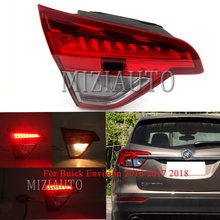 Inner side Rear tail light Brake Light For Buick Envision 2016 2017 2018 Tail Stop Fog lamp Car Accessories miziauto rear tail light inner side for buick envision 2016 2017 2018 brake light rear bumper light tail stop lamp turn signal