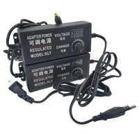 Regolabile AC A DC di Alimentazione 3V 5V 6V 9V 12 V 15V 18V 24V 1A 2A 5A Adattatore di Alimentazione Universale 220V A 12 V Volt Adattatore