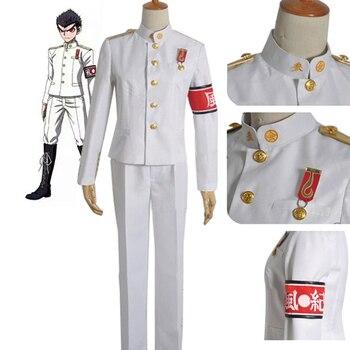 Danganronpa Dangan Ronpa Ishimaru Kiyotaka Uniform Men Halloween Christmas Party Cosplay Costume Jacket Pants недорого