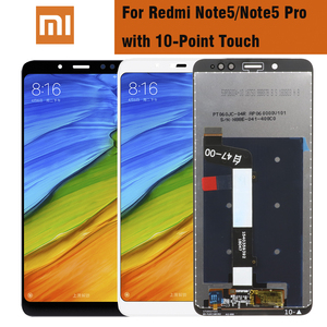 Image 1 - Original LCD For Xiaomi Redmi Note 5 Pro Prime LCD Display Touch Screen With Frame for Xiaomi Redmi Note 5 Note5 Pro LCD Display