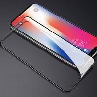 Cubierta completa de vidrio templado para iphone, Protector de pantalla de vidrio para 11 Pro, X, XR, Xs, Max, 2019, 0,3mm, 9H