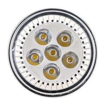 High Quality Super Bright AR111 6W 12W COB LED Downlight QR111 G53 LED Bulb light Dimmable led lamp AC220V/DC12V newest led ar111 lamp 12w 15w g53 gu10 led ar111 light es111 led spotlight ac85 265v free shipping
