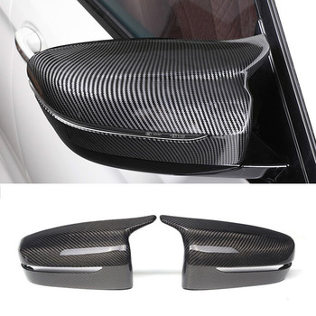 for bmw 5 series g30 g38 dry carbon fiber mirror cover for bmw g11 g12 carbon rear side view caps mirror cover m look lhd 2017 Replacement Mirror Cover For BMW 5 Series G30 G31 G11 G12 Side Rear Mirror Left Hand Driver Carbon Fiber ABS 2017 2018 2019