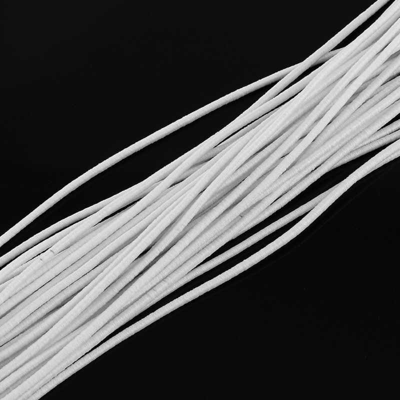 80m/100m Elastic Stretch Cord Jewelry Findings Beading Beads Cord String Strap Rope Bead For Bracelet Mask Rope 2mm 2.5mm 4mm