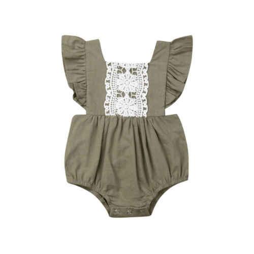 Citgeets vestido de renda para bebês, novo vestido moderno para crianças pequenas sem mangas roupas de bebê pequena irmã com renda vestido