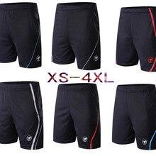 Новые быстросохнущие мужские и женские шорты для настольного тенниса, шорты для тенниса/бадминтона, волейбольные шорты для бега фитнес-шорты XS-4XL