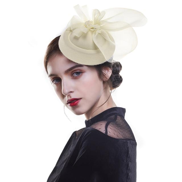 Women's Chic Fascinator Hat  2