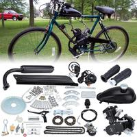 Samger 50cc/80cc 2 Hub Fahrrad Motor Gas Engine Kit Für DIY Elektrische Fahrrad Mountainbike Komplette Motor Bike gas Motor Kit