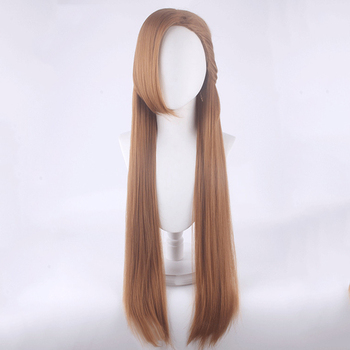 My Next Life As a Villainess: All Routes Lead to Doom! Catarina Claes/katarina Claes Brown 80cm Long Cosplay Costume Wig