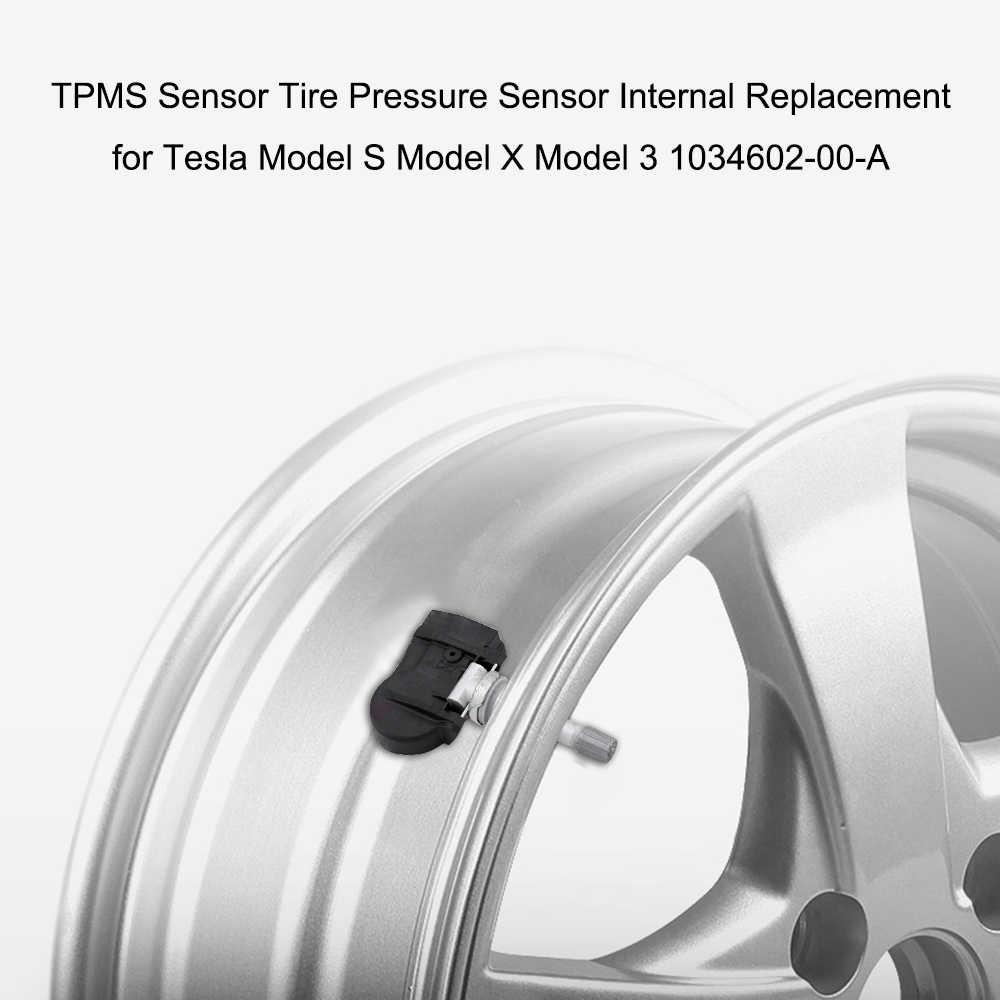 Substituição interna nova quente do sensor da pressão dos pneus do sensor do carro tpms para tesla model s modelo x 3 1034602-00-a