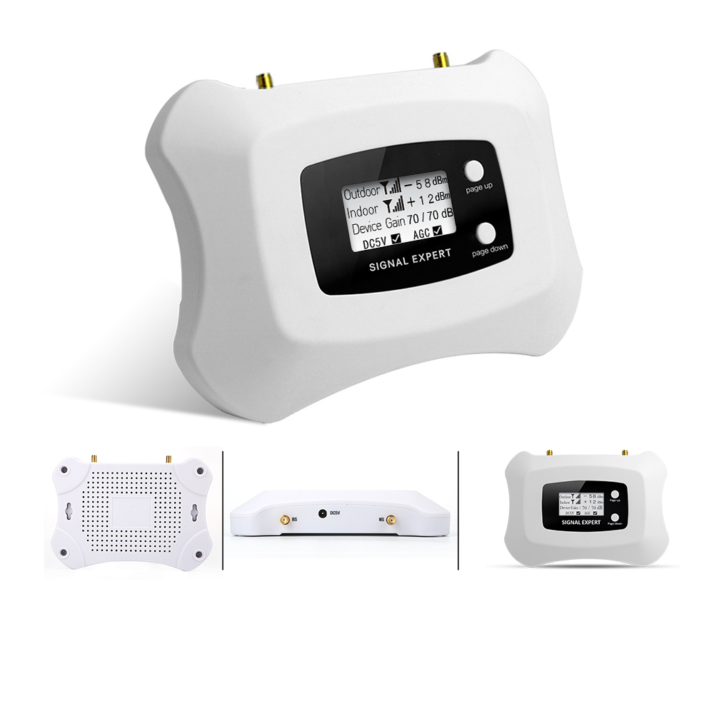 2019 New fashion signal repeater 2G DCS1800MHZ mobile signal booster 4g cellular signal amplifier Yagi + ceiling antenna kit