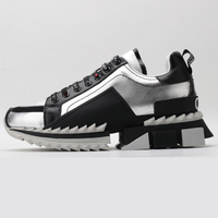 2020 Men Running Shoes Top Quality Casual Fashion Sport Shoes For Women Genuine Leather Ladies Sneakers Luxury Brand Size 35 45
