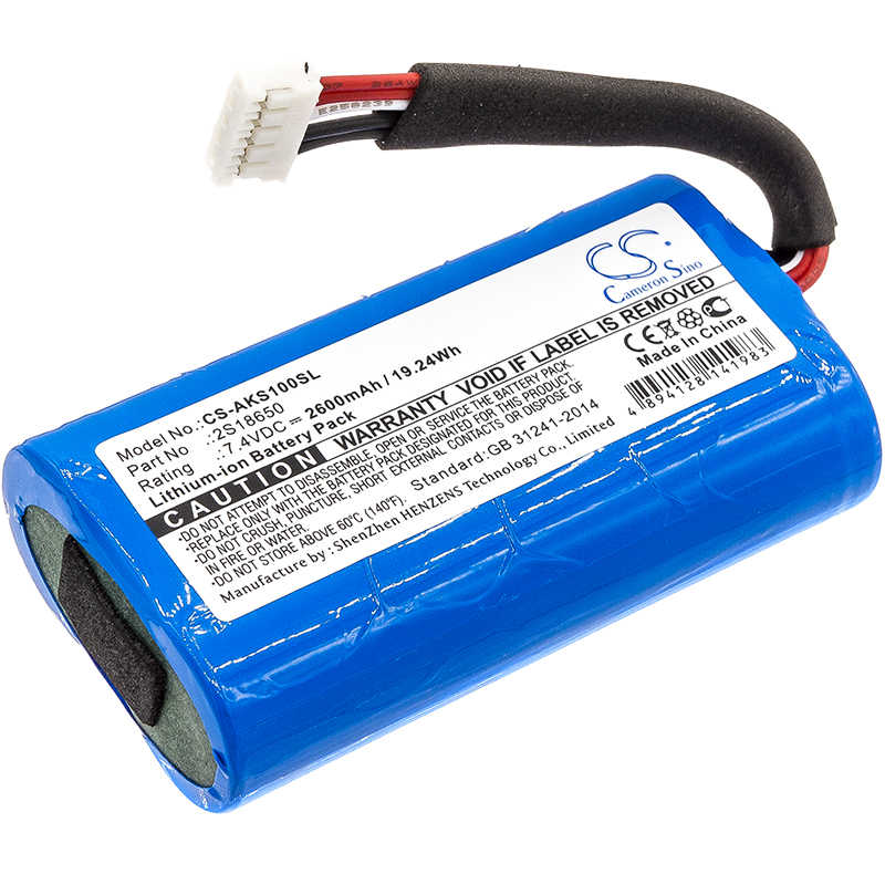Cameron Sino Voor Anker 2S18650 SoundCore Boost 2600 mAh/19.24Wh
