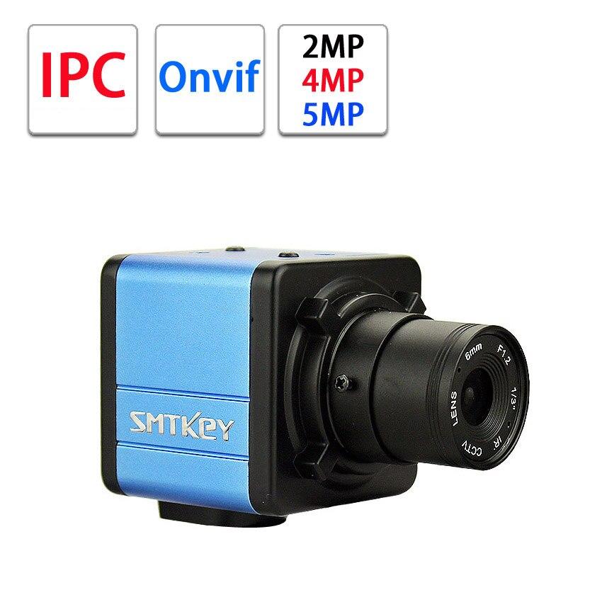 SMTKEY BOX Mini IP Kamera 2MP 4Mp 5MP Onvif IPC für hikvision onvif NVR