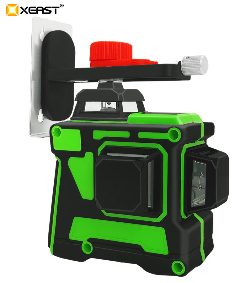 XEAST XE-63G профессиональный лазерный уровень 3D 12 линия супер сильный зеленый светильник может быть уровень стены