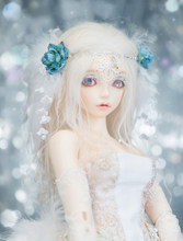 Bjd-poupée cadeau d'anniversaire | 1/4 - Cygne poupée de haute qualité yeux gratuits, peut choisir