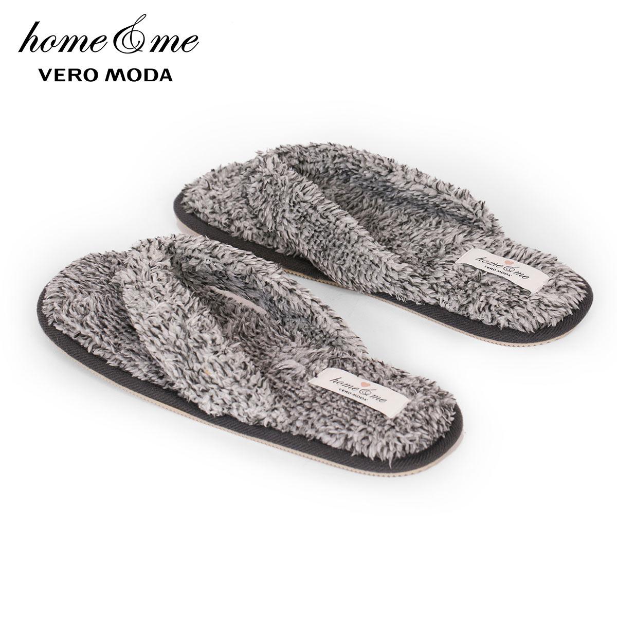 Vero Moda Women's Antiskid Downy Homewear Flip-Flops | 3183SA501