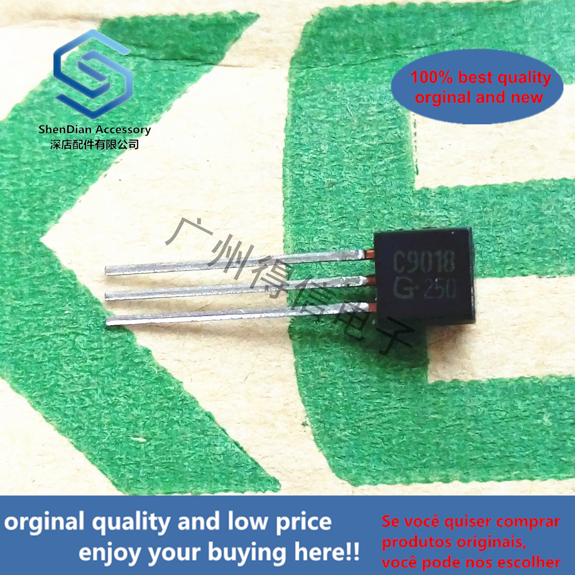 50pcs 100% Orginal New KTC9018G KTC9018 9018 Triode To-92 Real Photo