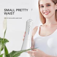 Irrigateur Oral électrique portatif imperméabilisent le nettoyage dentaire Rechargeable de dents de Jet deau de Flosser dentaire deau