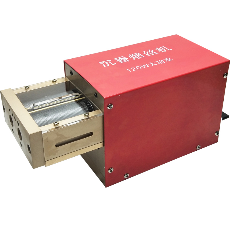 Electrical Cigarette Tobacco Cutting Machine Scented Tea Slice Cutting Machine 120w