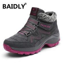 Yürüyüş ayakkabıları kadınlar için gerçek deri kaymaz açık yürüyüş botları Trekking ayakkabıları su geçirmez spor ayakkabılar kamp spor ayakkabılar