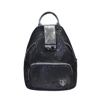 Eather Backpack Women 2019 New Brand School Bags for Teenage Girls Small Backpack Luxury Designer Anti Theft Backpack