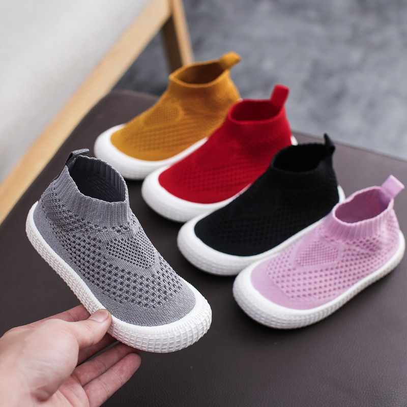 2019 Autumn Baby Girls Boys Casual Shoes Infant Toddler Shoes Child Kids Sports Shoes Breathable Non-slip Outdoor Mesh Senkers