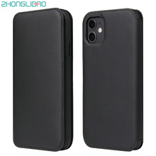 Luxury Wallet Soft Flip Leather Case for IPhone 11 Pro Xs Max Xr X 8 7 6 6s Plus Card Holder Phone Cover for IPhone se 2020 Case