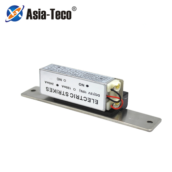 Electric Strike Door Lock For Access Control System Fail secure or Fail safe NC NO 12V Narrow-type 12V tanie i dobre opinie Asia-Teco 150B 500kg