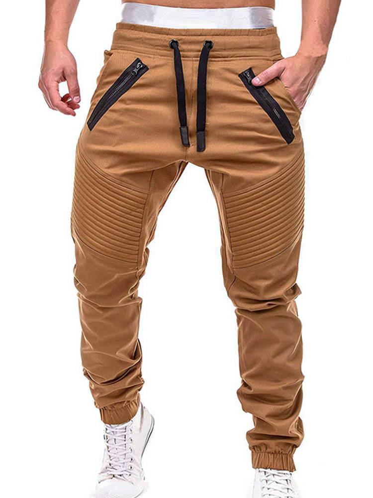 Trousers Jogger-Pants Bottom Slim-Fit Tactical-Sweatpants Cargo Men Casual Mens Fashion