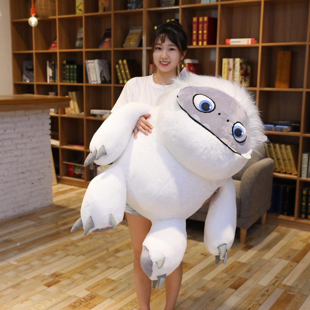 35-90cm Movie Abominable Snowman Plush Toys For Children Doll Pillow Cushion Soft Stuffed Christmas Gift For Kids Girls
