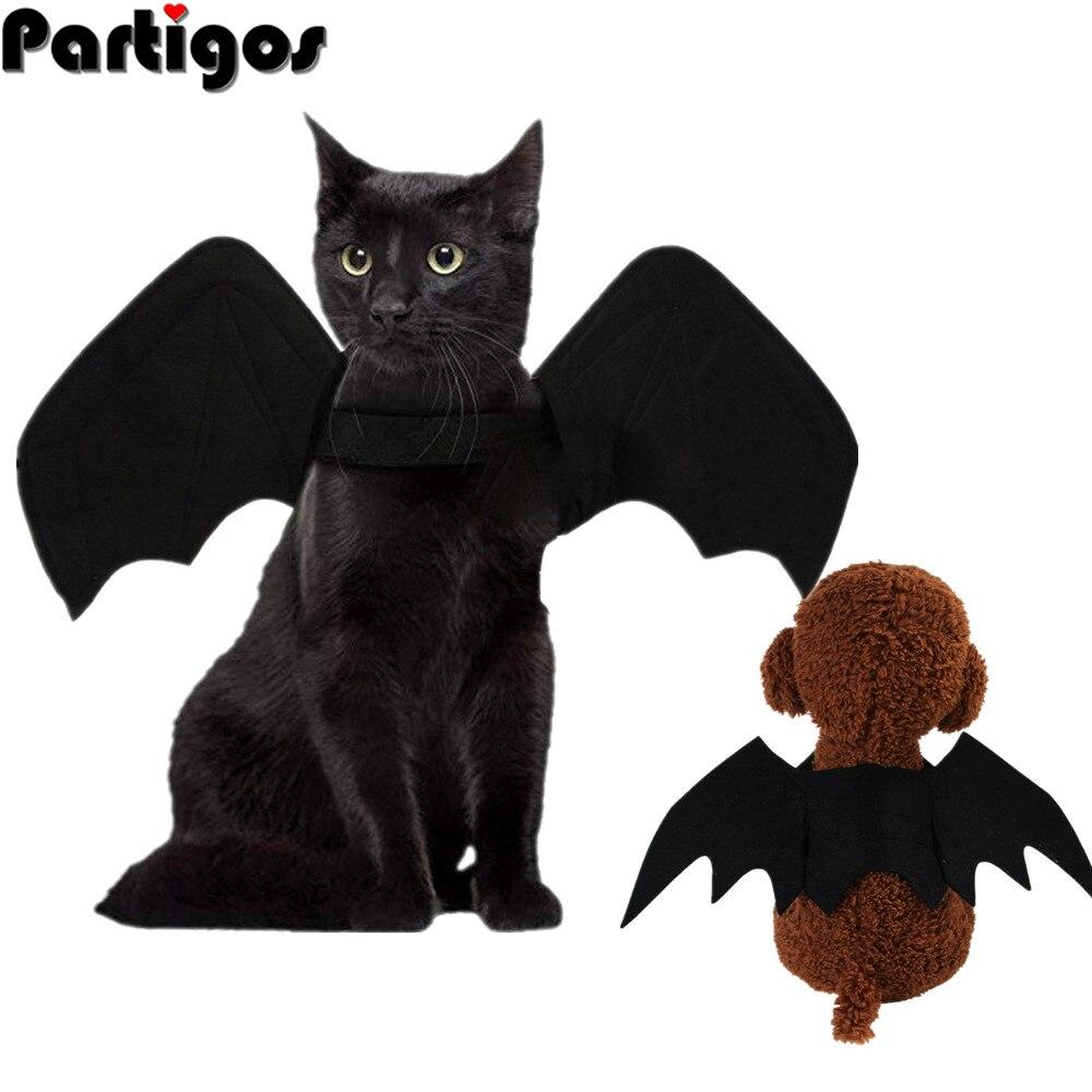 Lindas alas de murciélago para mascota perro gato disfraces para Halloween y Navidad Cosplay ropa divertida Navidad araña vestir mascotas accesorios
