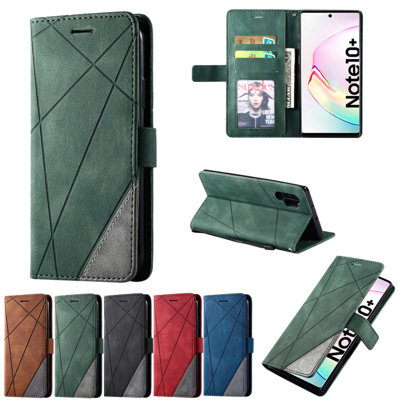 <font><b>Case</b></font> For <font><b>Samsung</b></font> Galaxy A91 A81 A71 A51 A70S A50S <font><b>A30S</b></font> A20S A10S M80S M60S A6 A7 A8 2018 Leather Wallet <font><b>Flip</b></font> <font><b>Case</b></font> caso Capa image