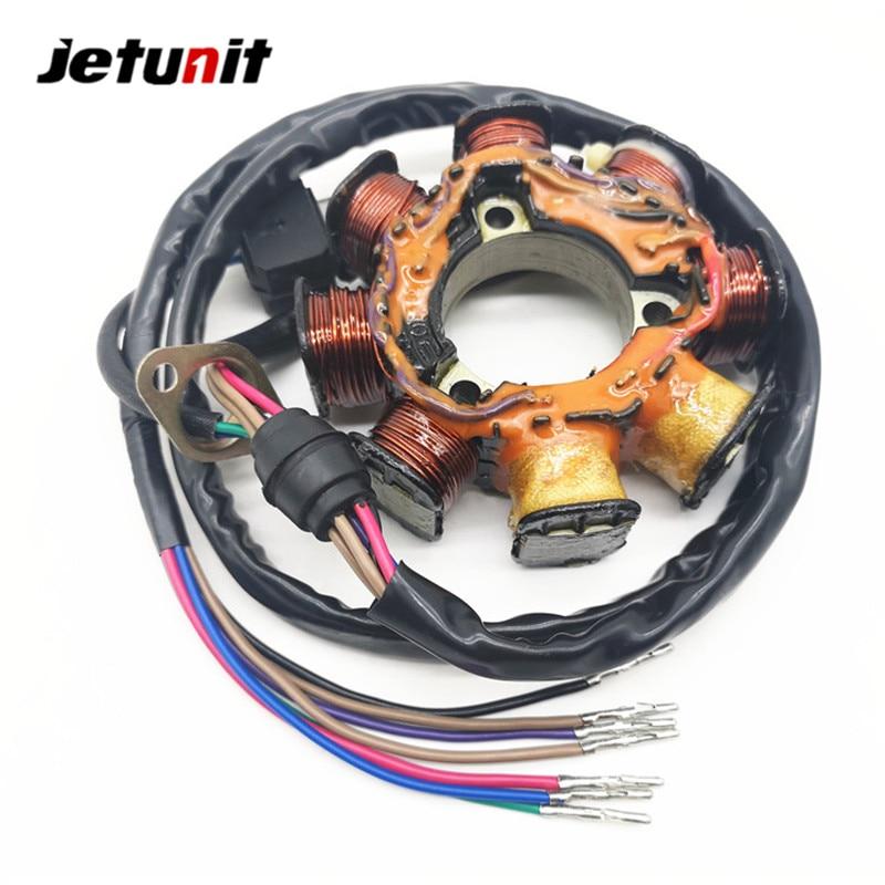 JETUNIT 100/% premium JETSKI Stator Assembly Generator For YAMAHA 64X-85521-01-00 Wave Blaster 760//Raider//Runner//Venture//XL //GP JET SKI PWC