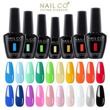 NAILCO 15ml 2021 printemps couleurs vives d'été série Vernis Gel Vernis à ongles LED et UV ongles Gel Nail Art tout pour manucure Design ensemble