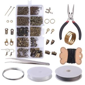 Image 2 - DIY תכשיטי ביצוע ערכת כלי סטי פלייר מספריים ואגלי פינצטה סיכות טבעות מחטי מסרגה קלטת למדוד Vernier Caliper